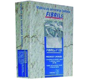 Polipropenska vlakna Fibrils imajo številne prednosti