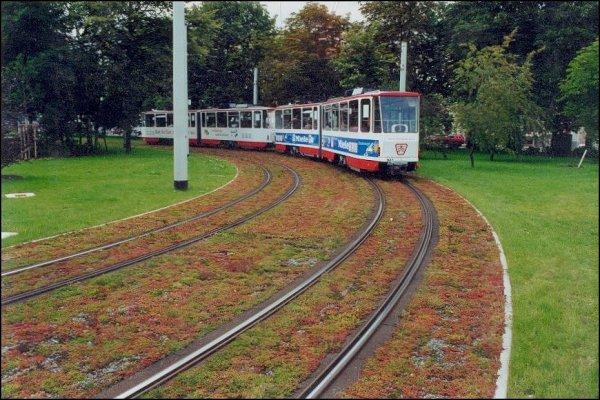 Zazelenitev železniških tirov
