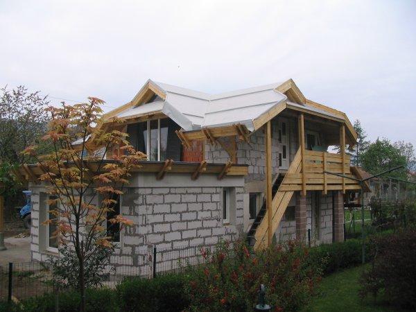 Priprava poševne strehe na zazelenitev