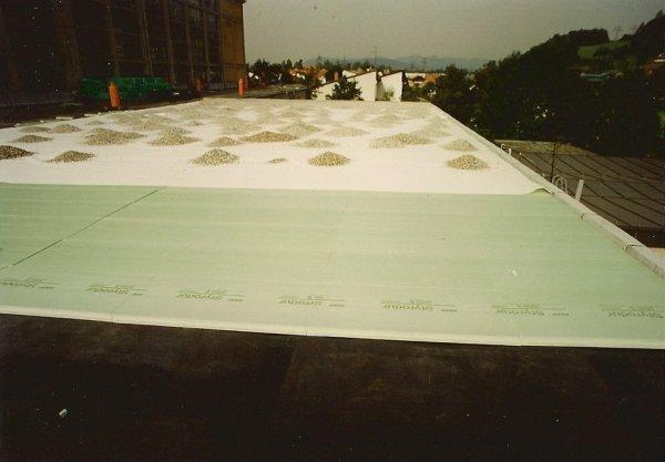 Priprava ravne strehe